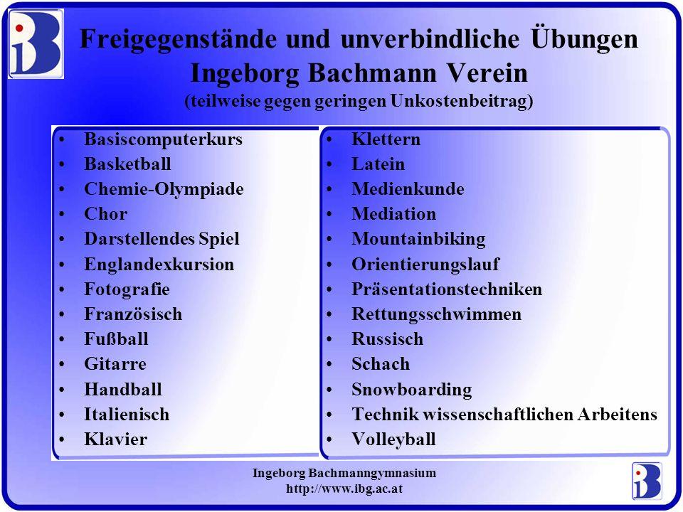Ingeborg Bachmanngymnasium