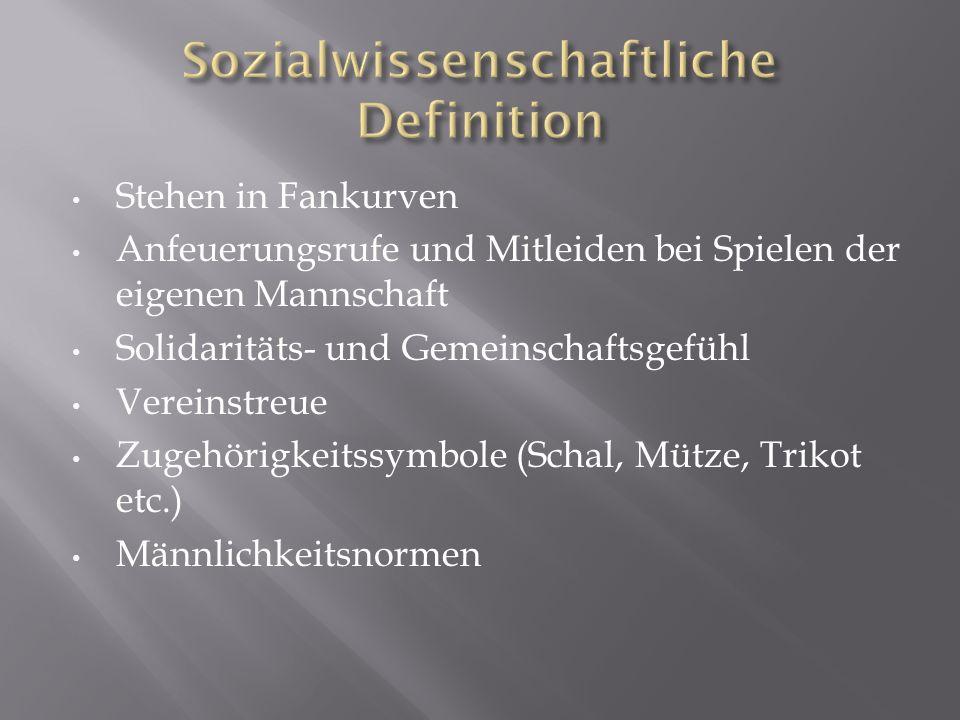 Sozialwissenschaftliche Definition
