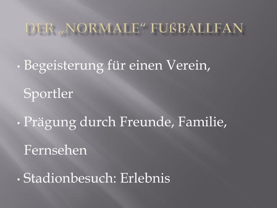 """Der """"normale Fußballfan"""