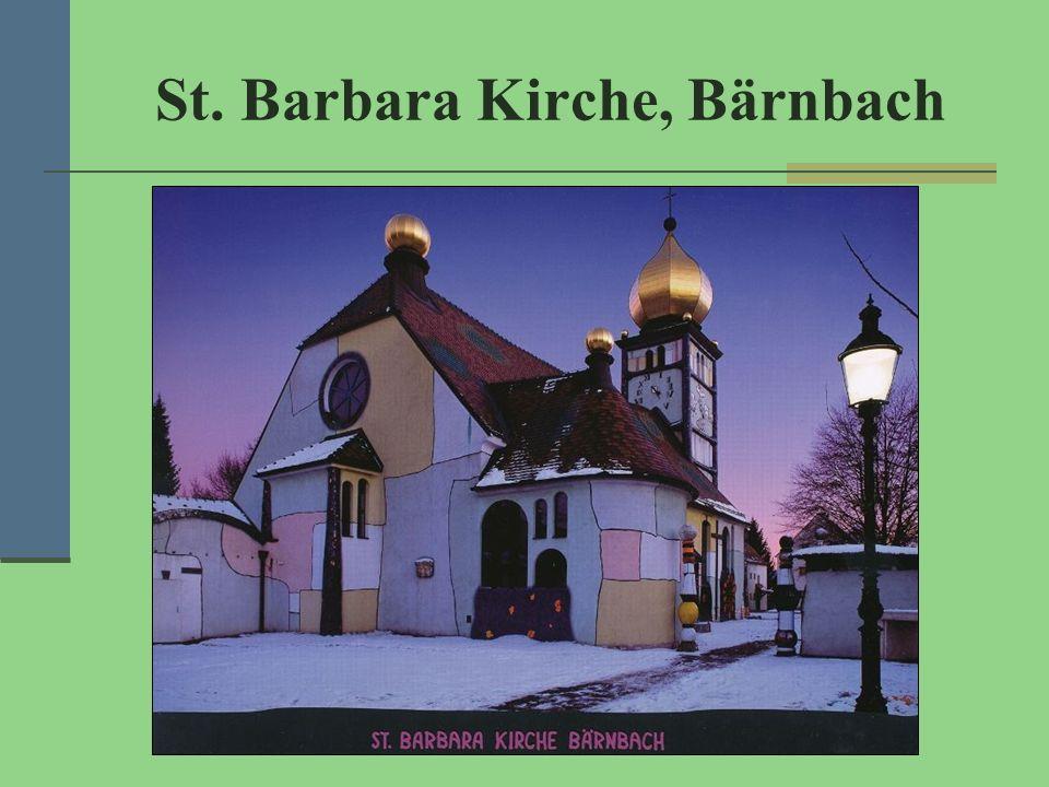 St. Barbara Kirche, Bärnbach