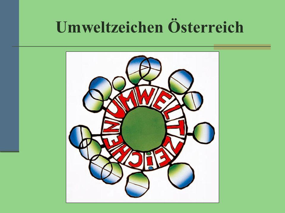 Umweltzeichen Österreich
