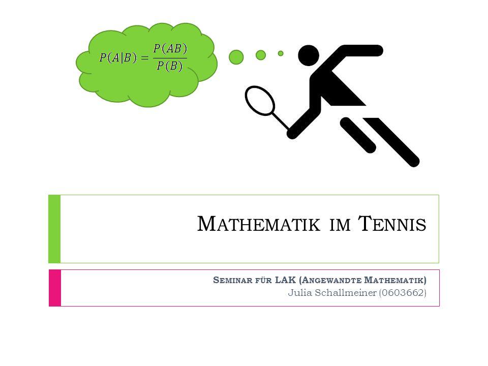 Seminar für LAK (Angewandte Mathematik) Julia Schallmeiner (0603662)
