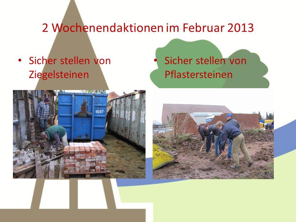 2 Wochenendaktionen im Februar 2013