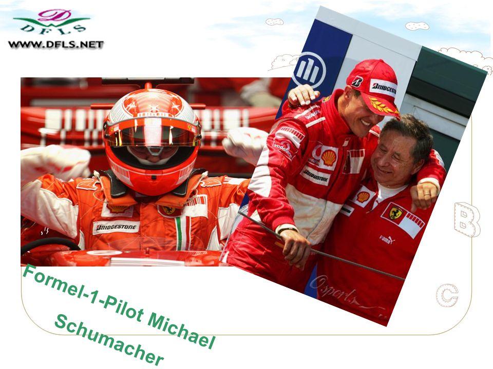 Formel-1-Pilot Michael