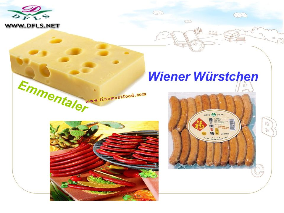 Wiener Würstchen Emmentaler