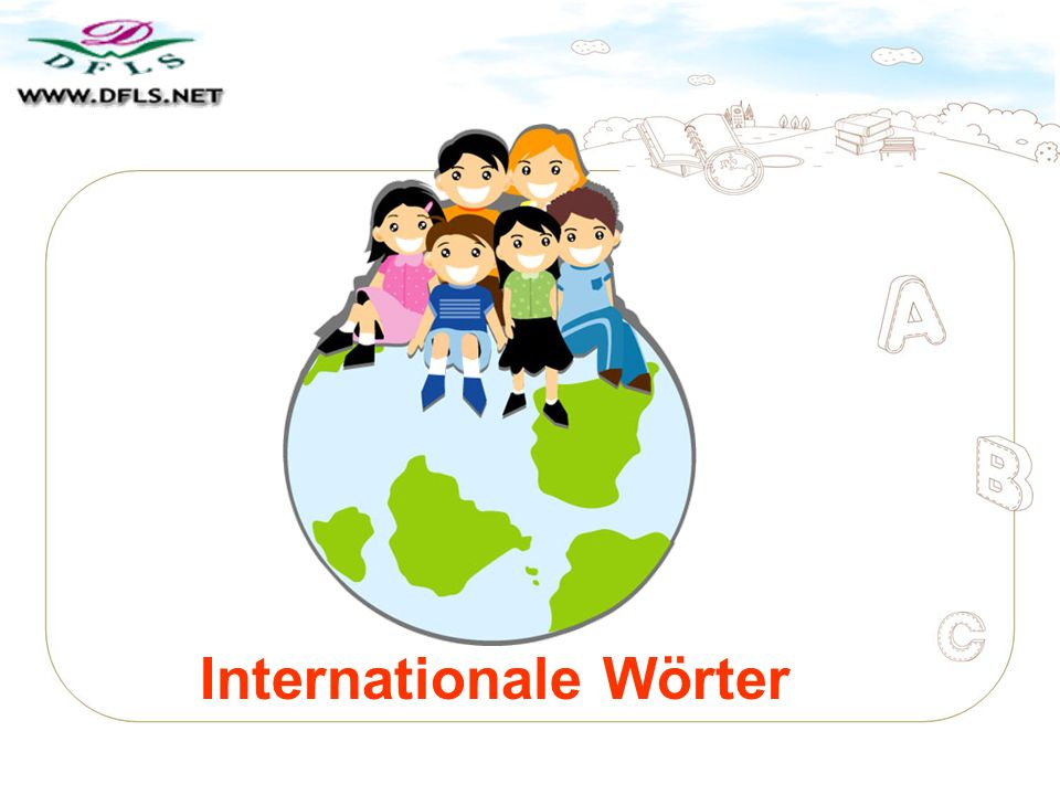 Internationale Wörter