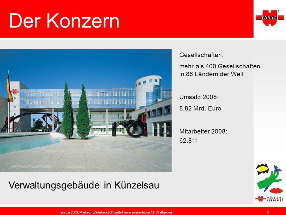 Der Konzern Verwaltungsgebäude in Künzelsau Gesellschaften: