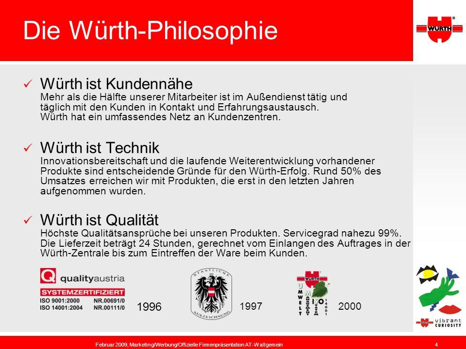 Die Würth-Philosophie