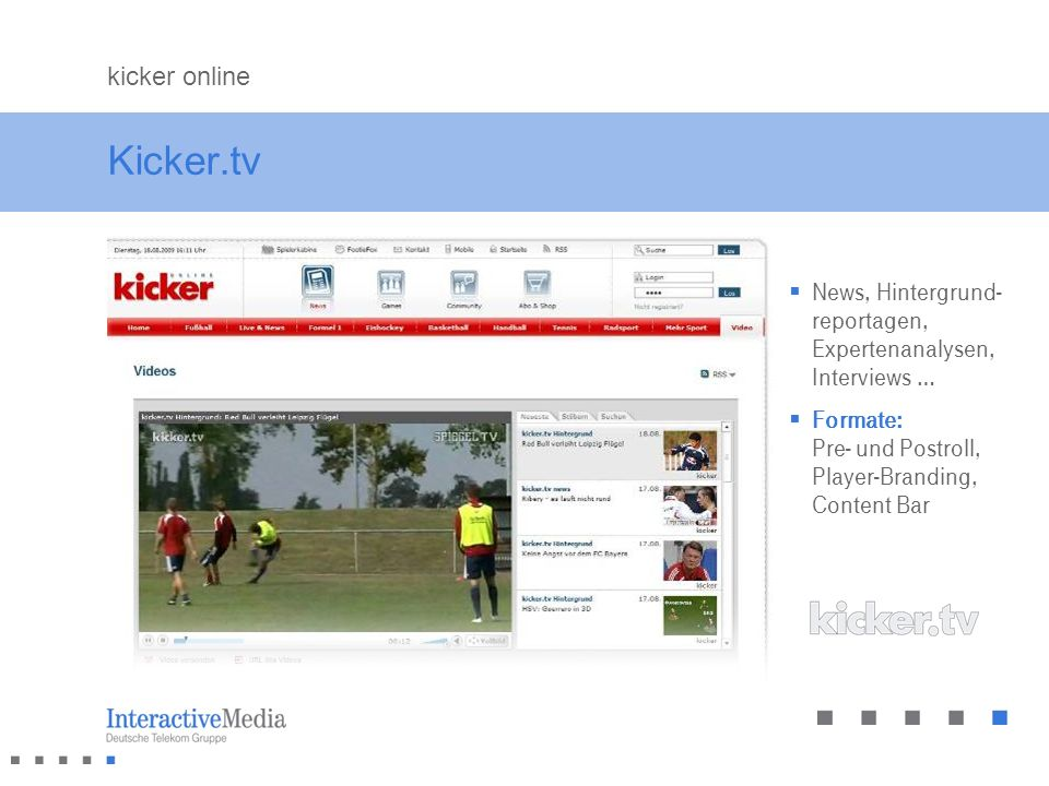 Kicker.tv kicker online