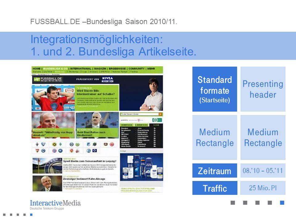 Integrationsmöglichkeiten: 1. und 2. Bundesliga Artikelseite.