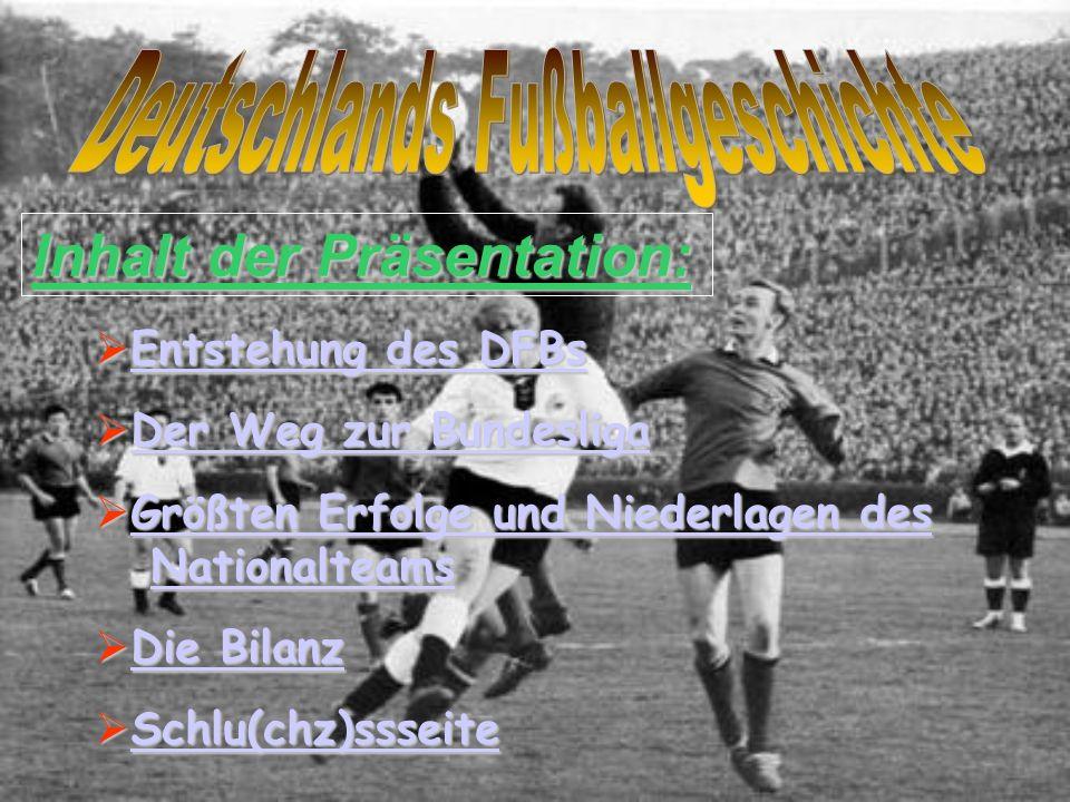 Deutschlands Fußballgeschichte