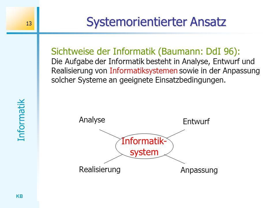 Systemorientierter Ansatz
