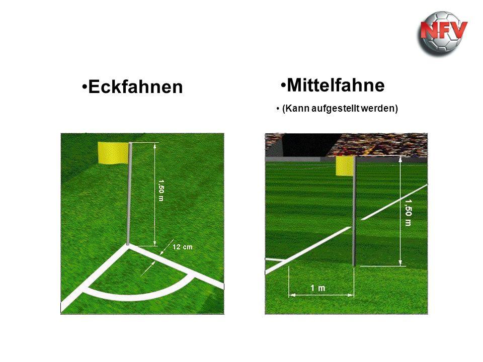 Maße Maße Maße Eckfahnen Mittelfahne Tor Tor (Kann aufgestellt werden)