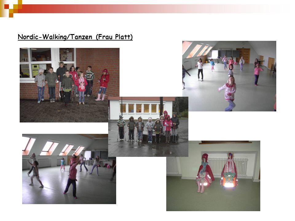 Nordic-Walking/Tanzen (Frau Platt)