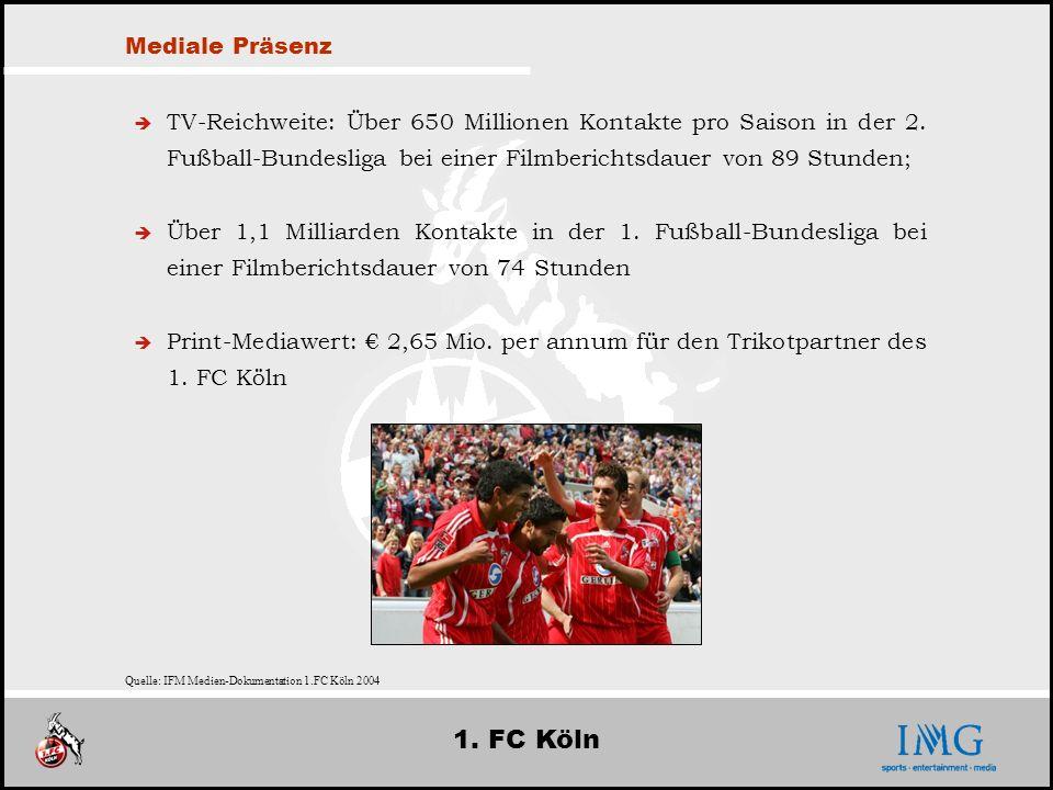 1. FC Köln Mediale Präsenz