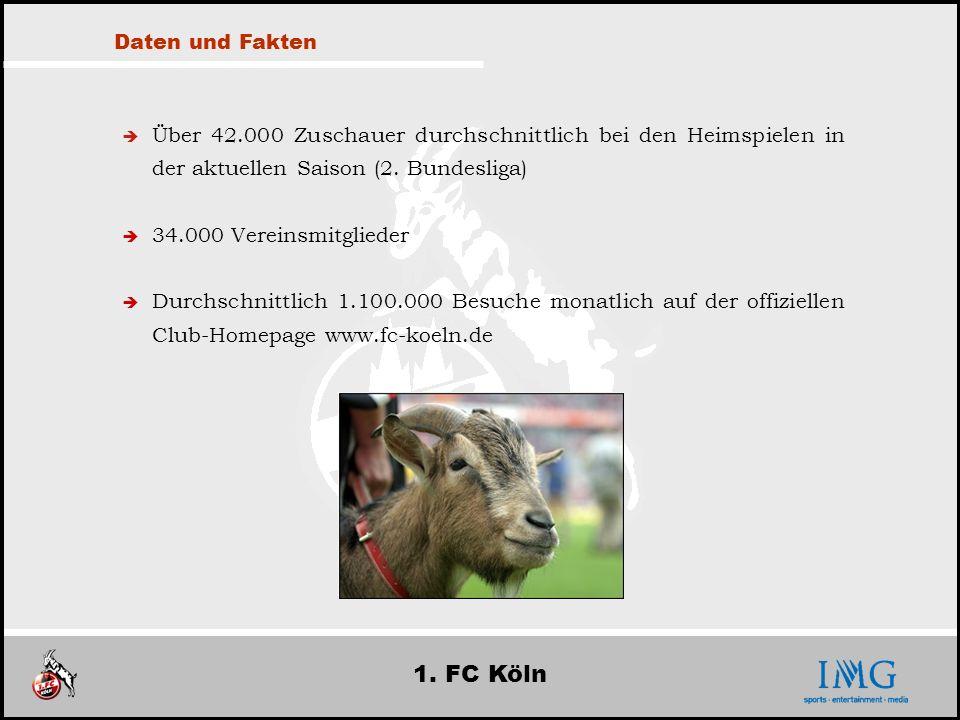 1. FC Köln Daten und Fakten