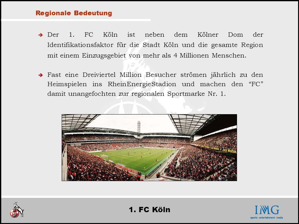 1. FC Köln Regionale Bedeutung