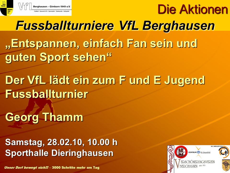 Fussballturniere VfL Berghausen