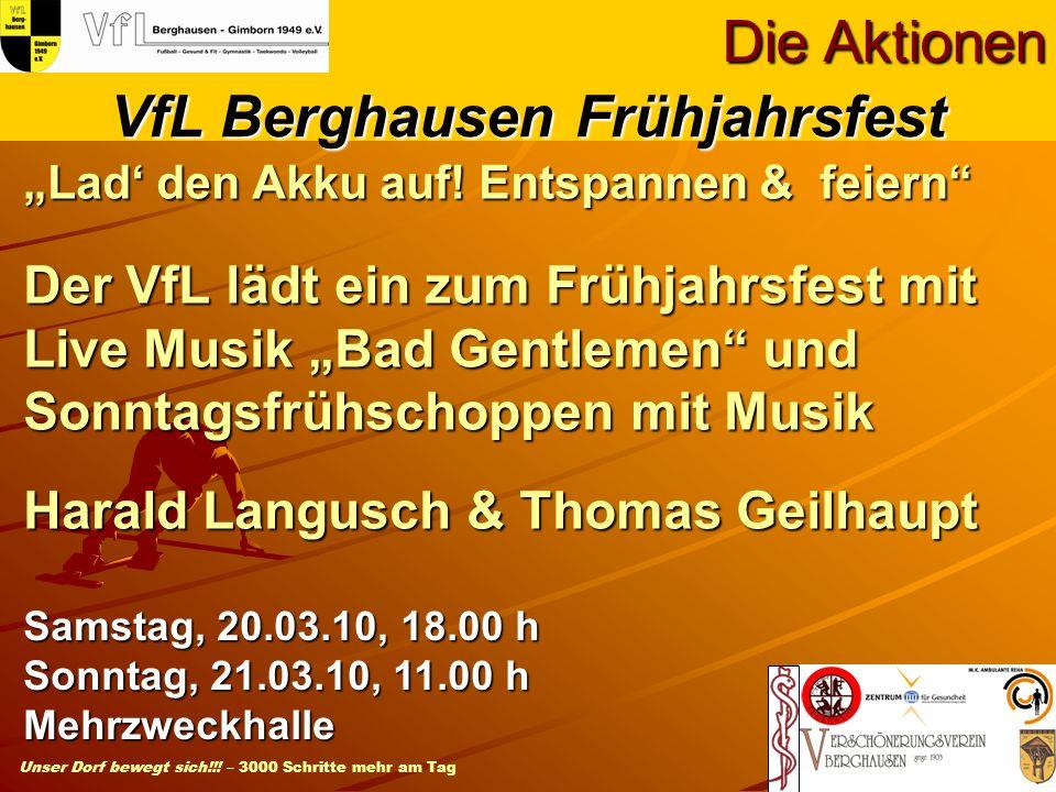 VfL Berghausen Frühjahrsfest