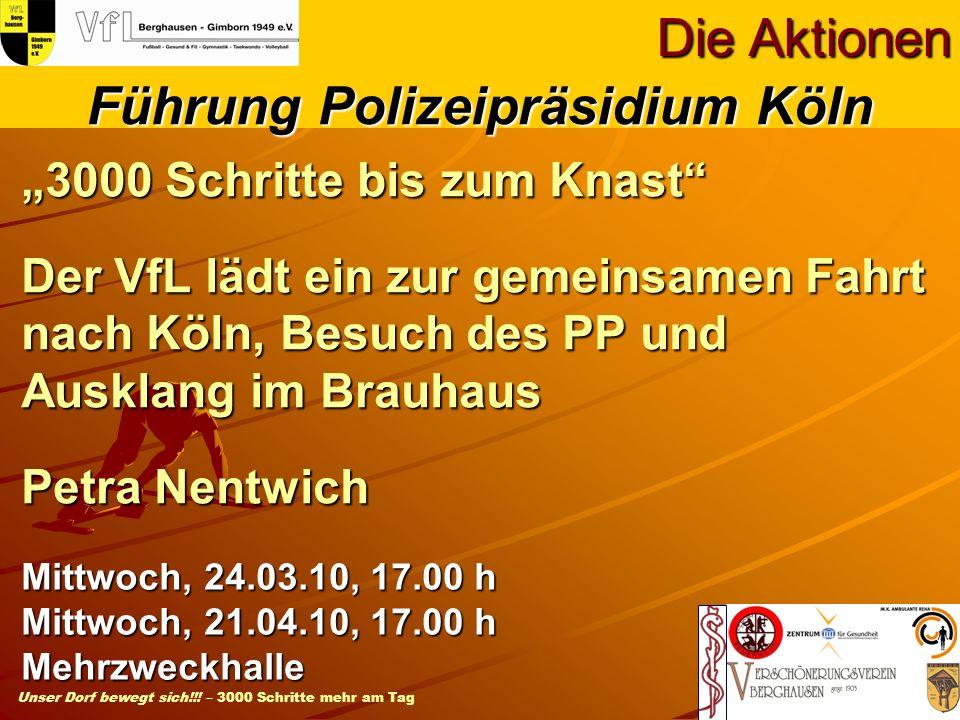 Führung Polizeipräsidium Köln