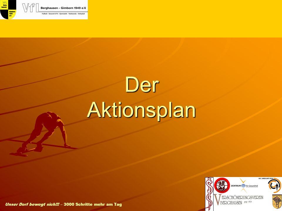 Der Aktionsplan