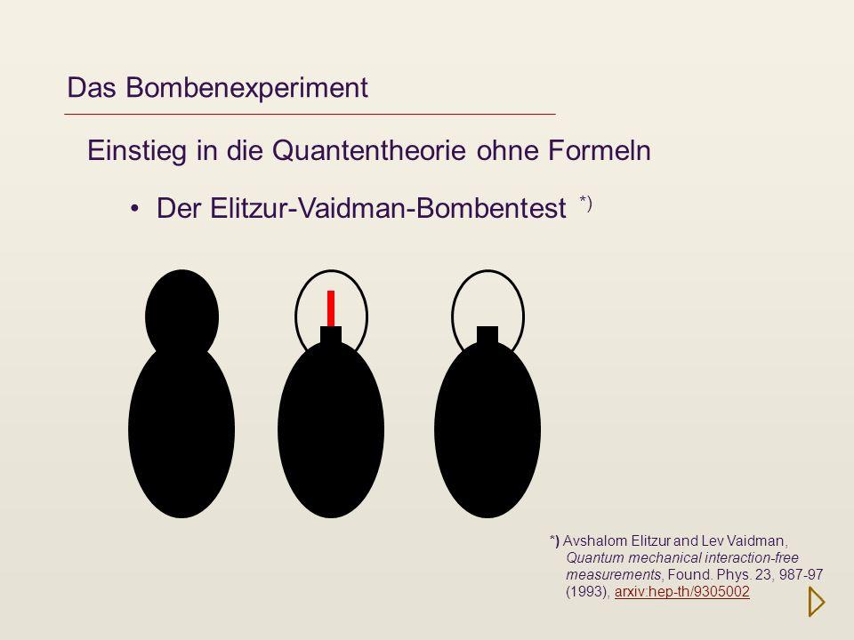 Einstieg in die Quantentheorie ohne Formeln