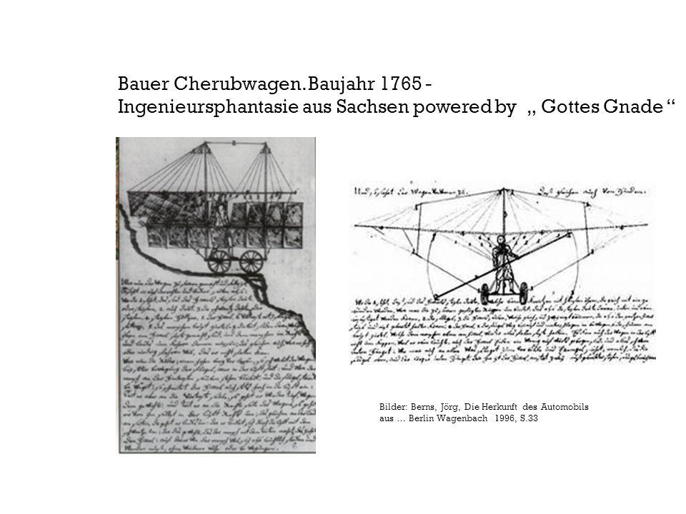 Bauer Cherubwagen. Baujahr 1765 -