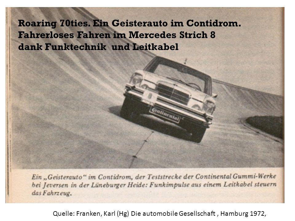 Roaring 70ties. Ein Geisterauto im Contidrom.