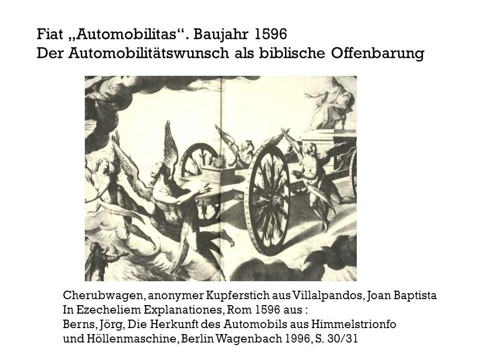 """Fiat """"Automobilitas . Baujahr 1596"""