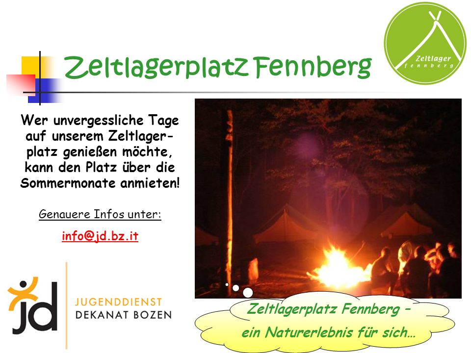 Zeltlagerplatz Fennberg
