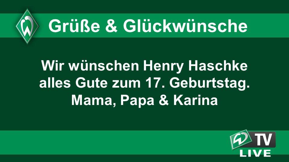 Wir wünschen Henry Haschke alles Gute zum 17. Geburtstag.