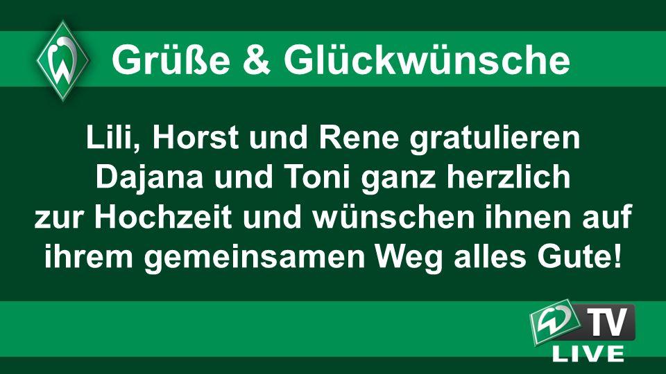 Grüße & Glückwünsche Lili, Horst und Rene gratulieren