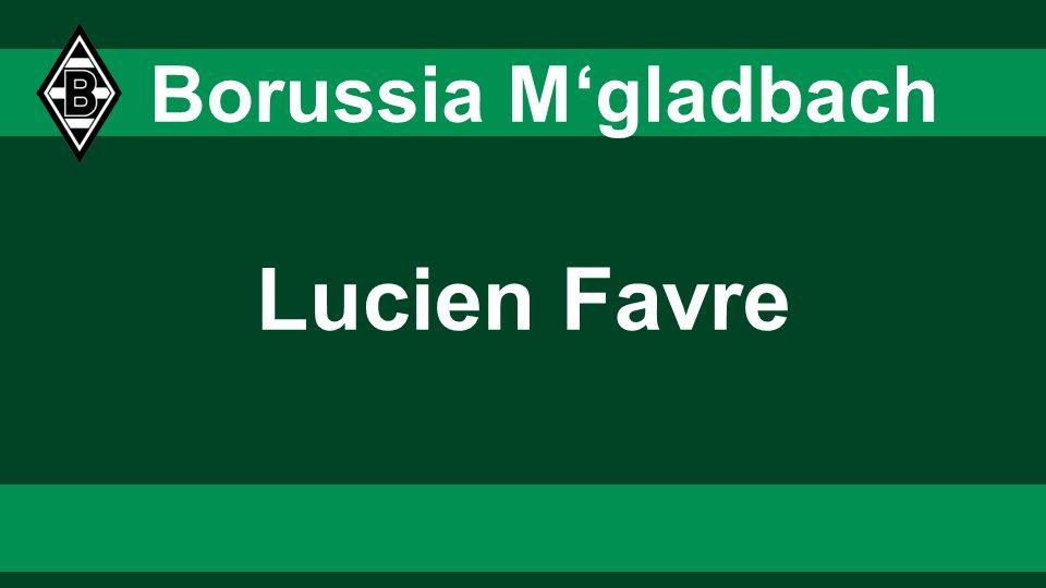 3131 3131 Borussia M'gladbach Lucien Favre 31