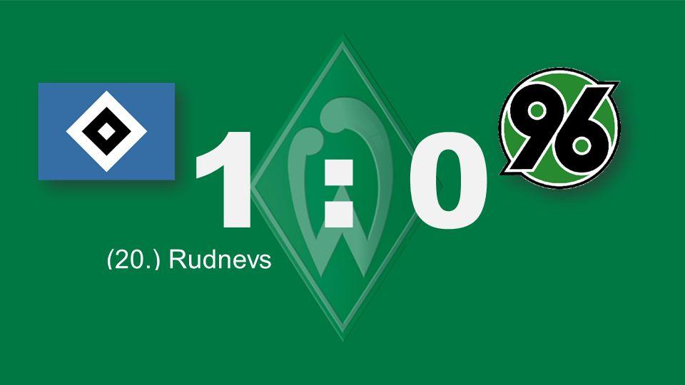 1 : 0 Bochum – KSC (20.) Rudnevs (26. / ET) Delpierre (82.) Salihovic