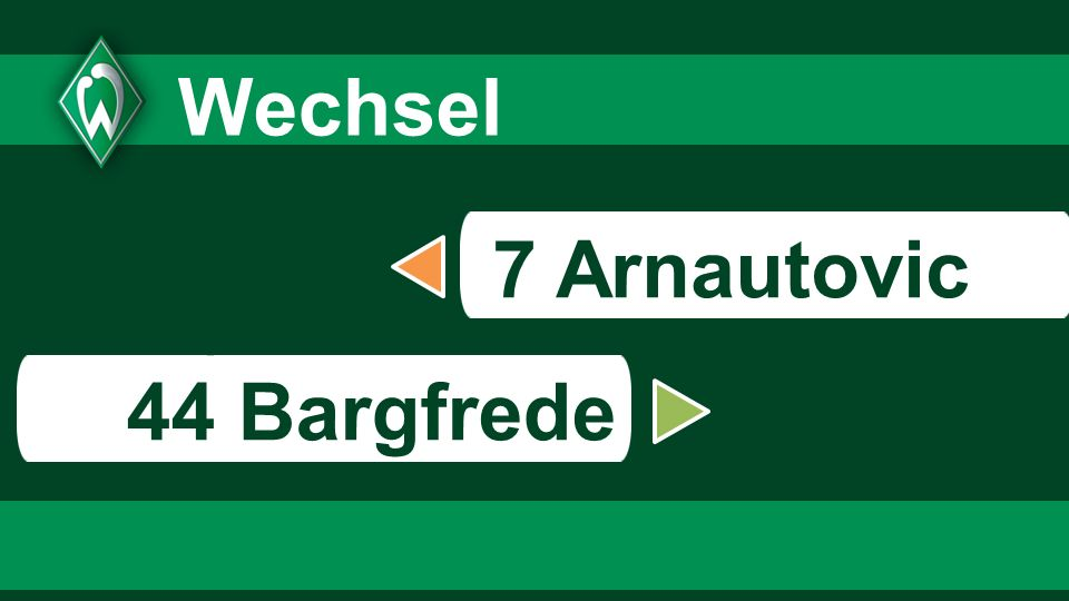 Wechsel 7 Arnautovic s 44 Bargfrede 67