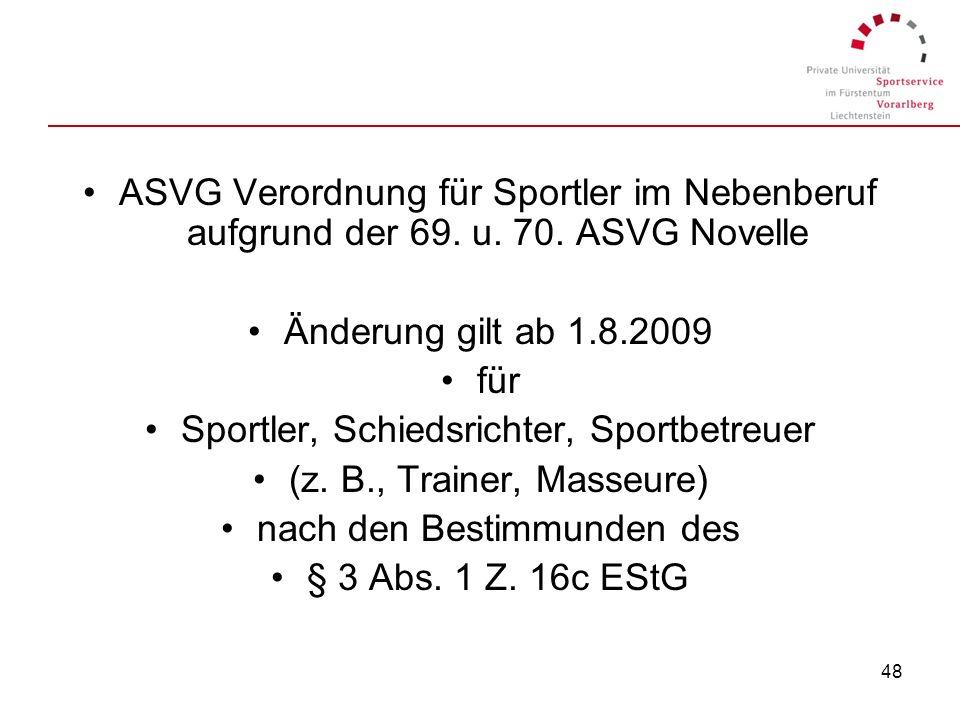 Sportler, Schiedsrichter, Sportbetreuer (z. B., Trainer, Masseure)