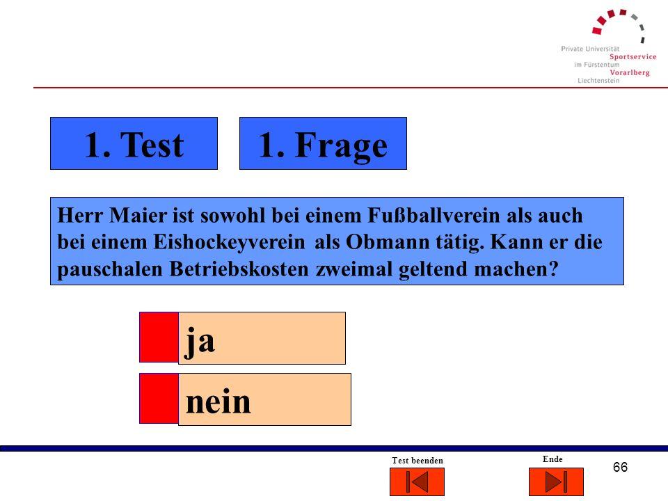 1. Test 1. Frage.