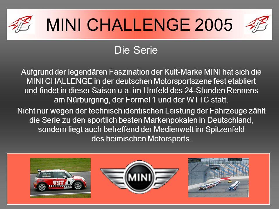 MINI CHALLENGE 2005 Die Serie