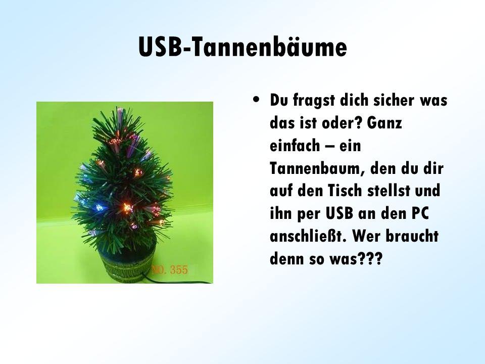 USB-Tannenbäume
