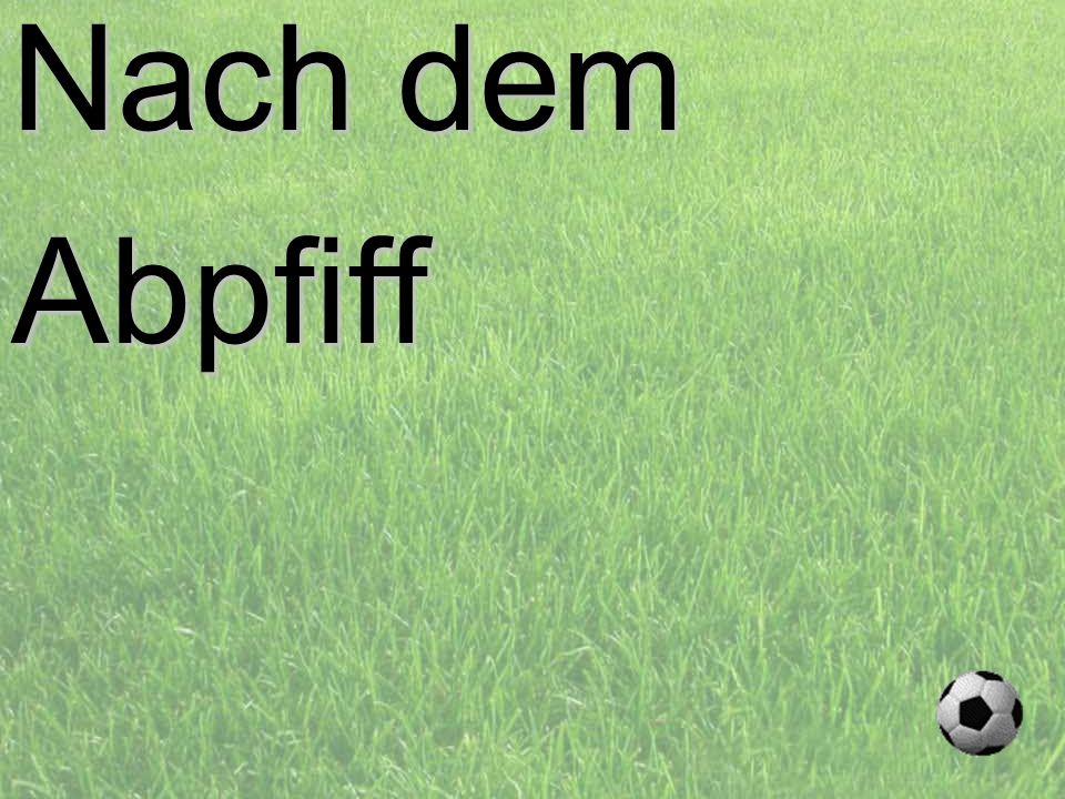 Nach dem Abpfiff PROJECT CONSULT Unternehmensberatung d.forum