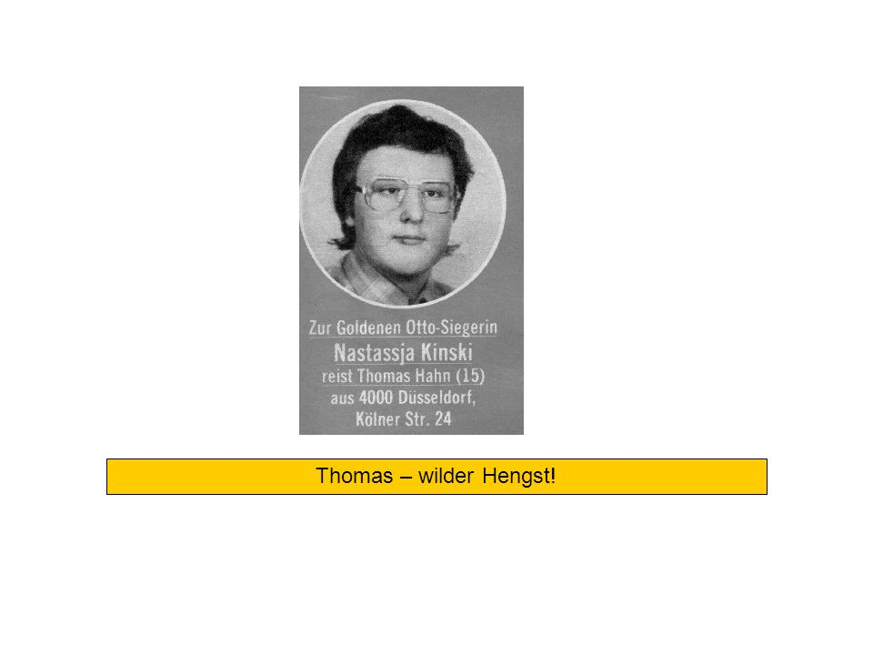 Thomas – wilder Hengst!