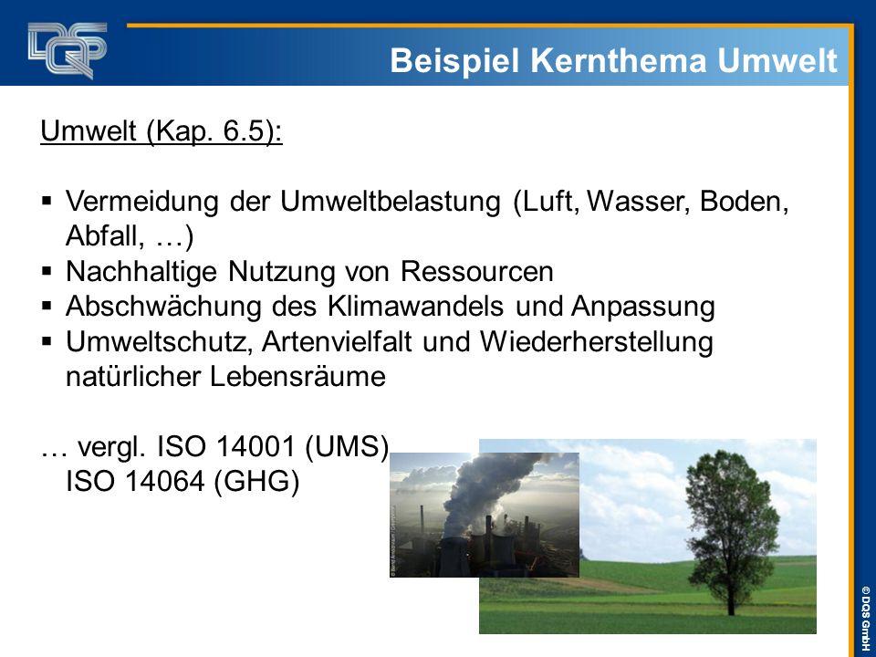 Beispiel Kernthema Umwelt