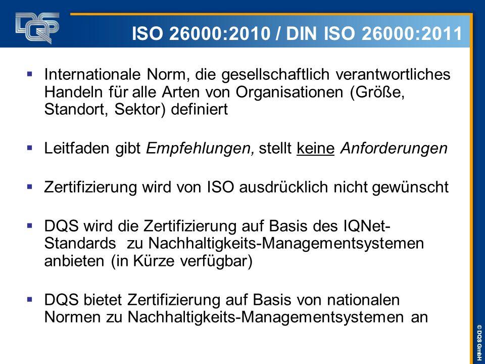 ISO 26000:2010 / DIN ISO 26000:2011