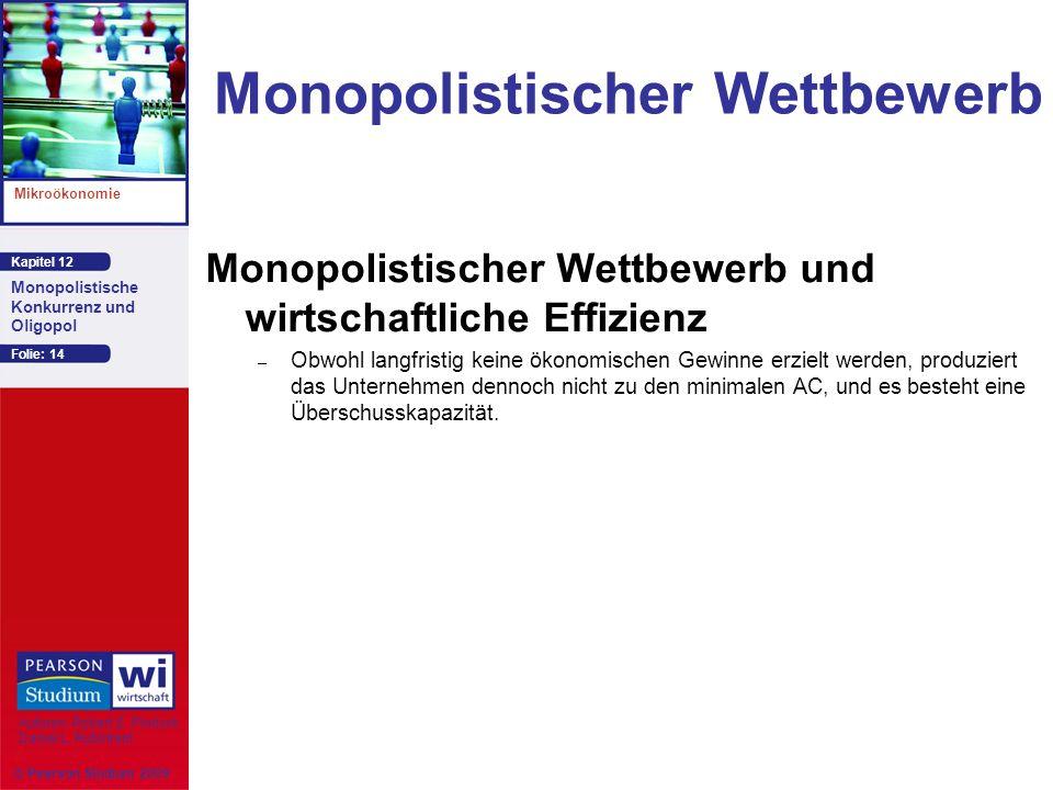 Monopolistischer Wettbewerb