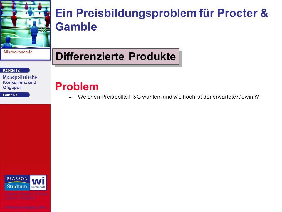 Ein Preisbildungsproblem für Procter & Gamble