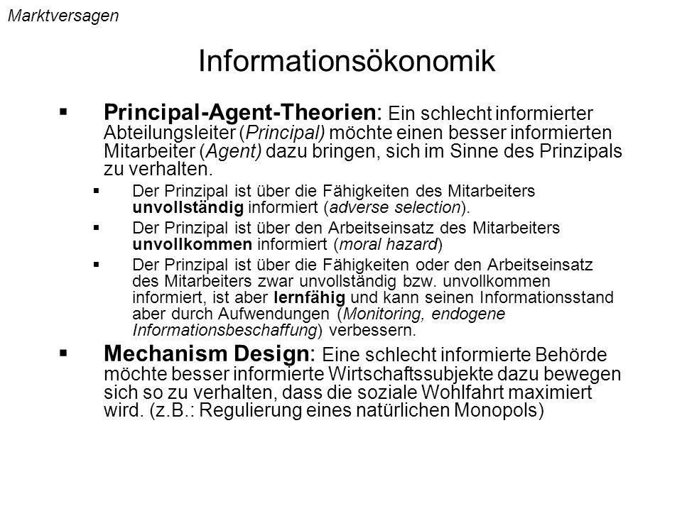 Informationsökonomik