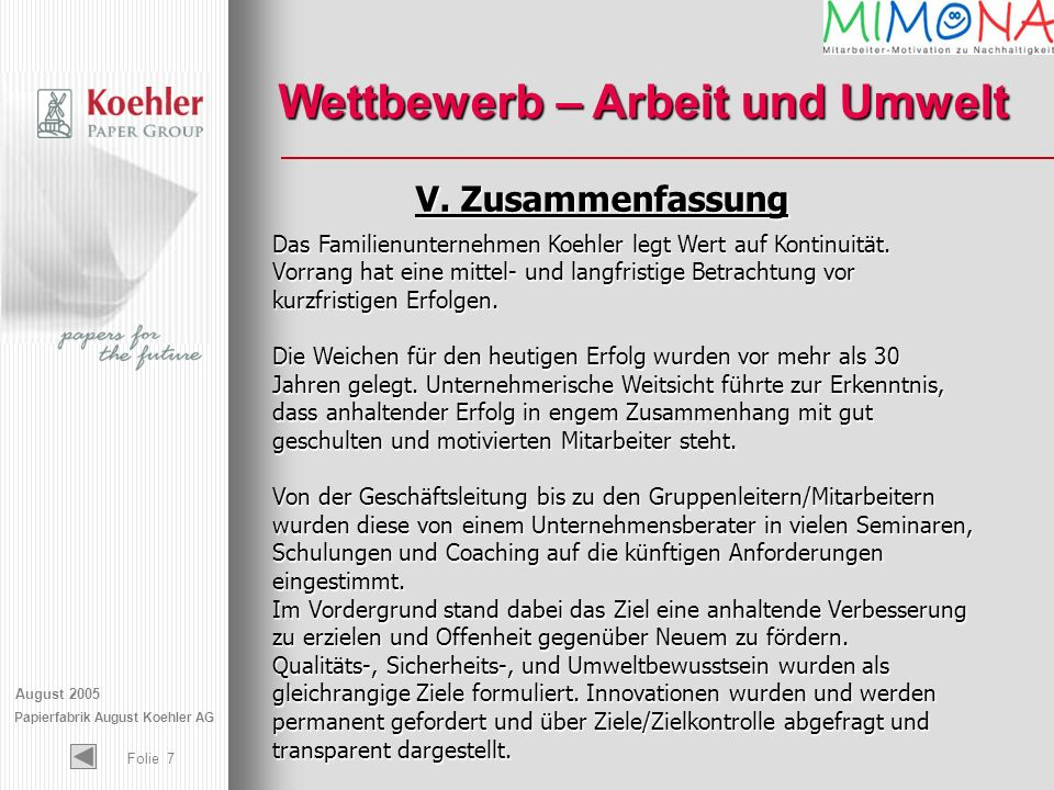 Papierfabrik August Koehler AG