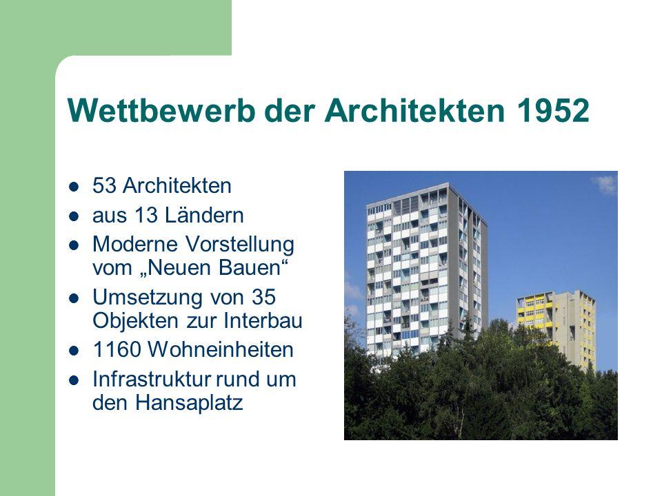 Wettbewerb der Architekten 1952
