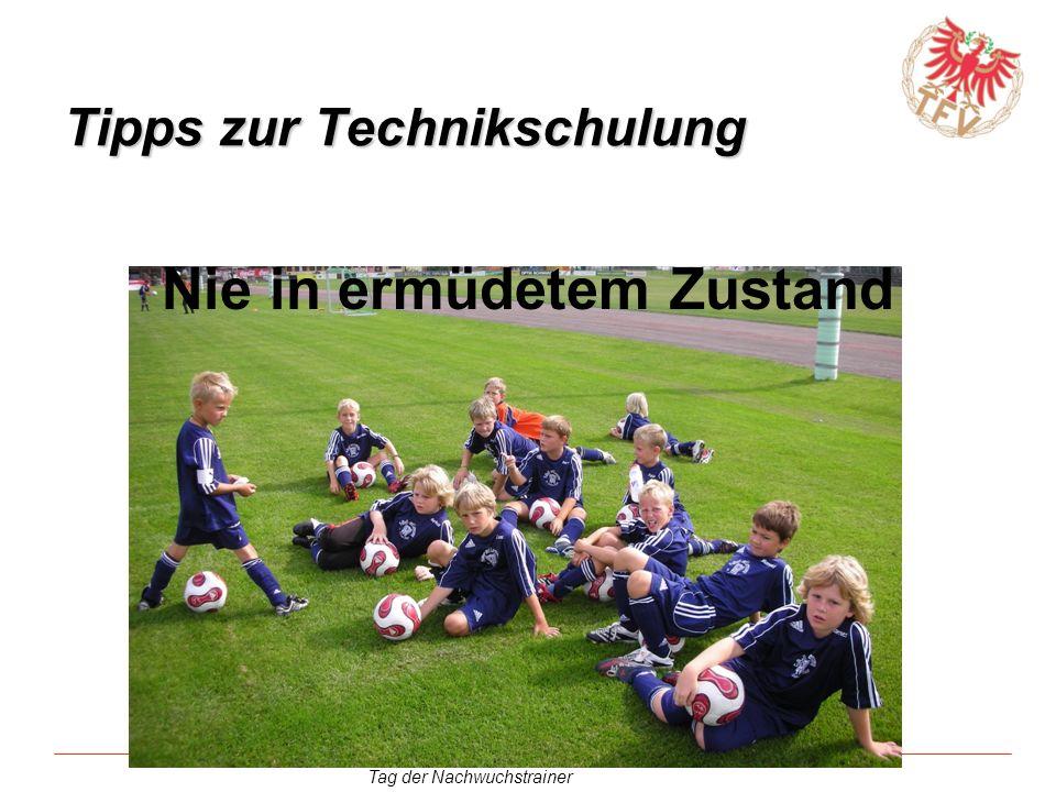 Tipps zur Technikschulung