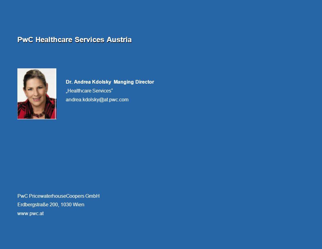 PwC Healthcare Services Austria